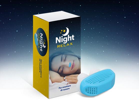 Night Relax  - apnee - notturne, - russare - smettere - recensioni